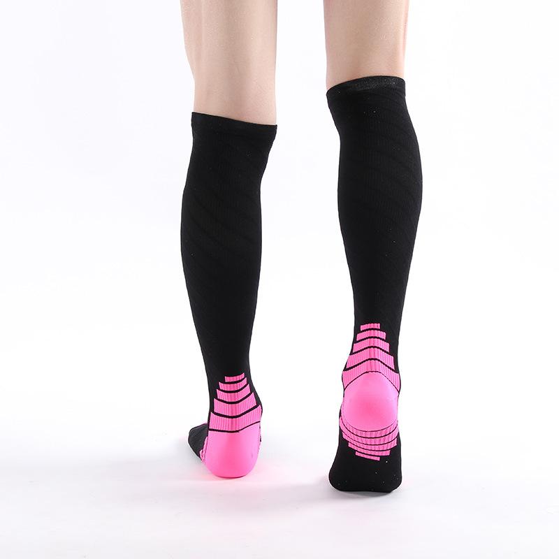 Men Sports Long Athletic Sock Hiking Breathable Quick-Drying Tube Socks