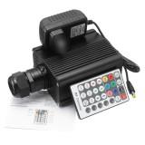 16W RGBW Engine Remote LED Fiber Optic Star Ceiling Kit Light Fiber Optic Lamp Light Source Device Equipment
