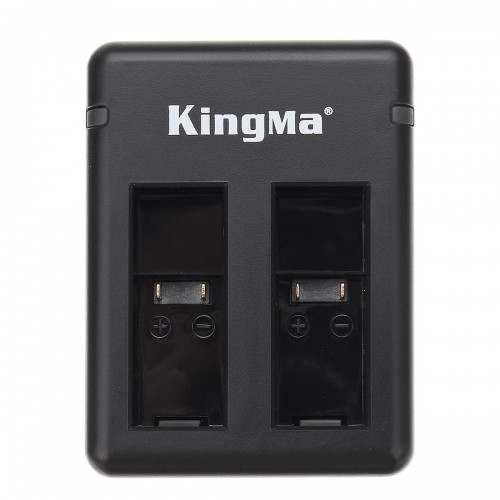 5V 2A Dual Battery Charger Charge 2 Battery for Kingma GoPro Hero5 Hero6