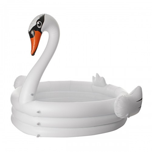 Children's Inflatable Swimming Pool Baby Kids Swan Pool Infant Swimming Mattress Pool Floats Swimming Fun Beach Toy