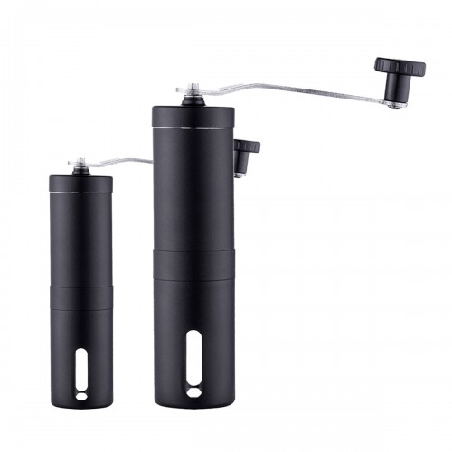 Portable Manual Coffee Grinder Hand Crank Stainless Steel Ceramic Burr Coffee Mill