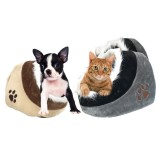 Warm Igloo Sleeping Pet Bed House Cushion Nest For Dog Puppy Cat K itten