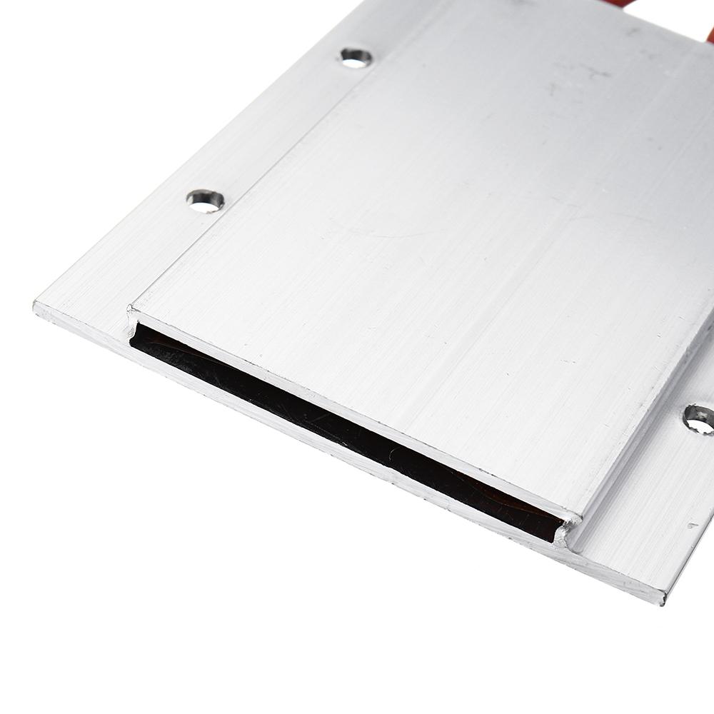 220V PTC Heating Element 77x62x6mm Constant Temperature 80 Degrees ptc Heater Shell Aluminum