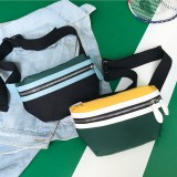 Women Canvas Waist Bag Crossbody Bag Phone Bag For Smart Phone Under 6.5 Inch iPhone XS Max Samsung Galaxy S10+