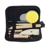 8PCS Clay Sculpting Wax Carving Pottery Tools Polymer Ceramic Modeling Kit