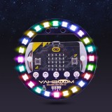 Microbit Light Ring Expansion Board Micro:bit Full Color LED Module RGB Driver Programmable Development Board