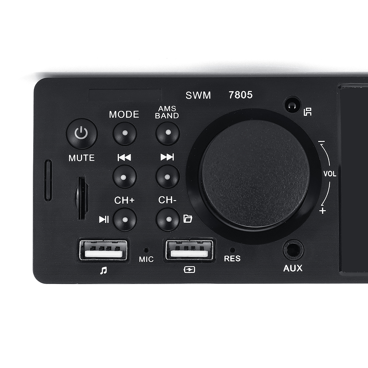 7805 4.1 Inch WINCE Car MP5 Player 1DIN Touch Screen Audio Video TF Card bluetooth FM Radio Support Carema