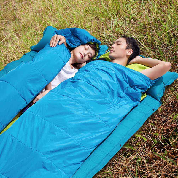 Zenph HW050201 Portable Sleeping Bag Seven-hole Cotton Single Sleep Pad With Cap Outdoor Camping from xiaomi youpin