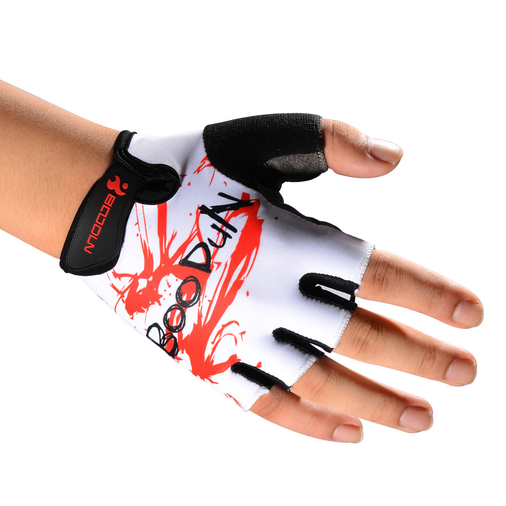 BOODUN Half-Finger Riding Glove Men And Women Summer Outdoor Motorcycle Riding Cycling Protective Finger Gloves