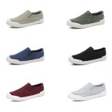 Men Casual Canvas Comfy Soft Soles Daily Walking Flats