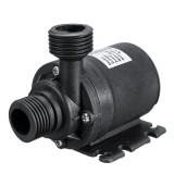 ZYW680 Mini DC 24V Water Pump Ultra Quiet 5.5m Lift Brushless Motor Submersible Water Pump