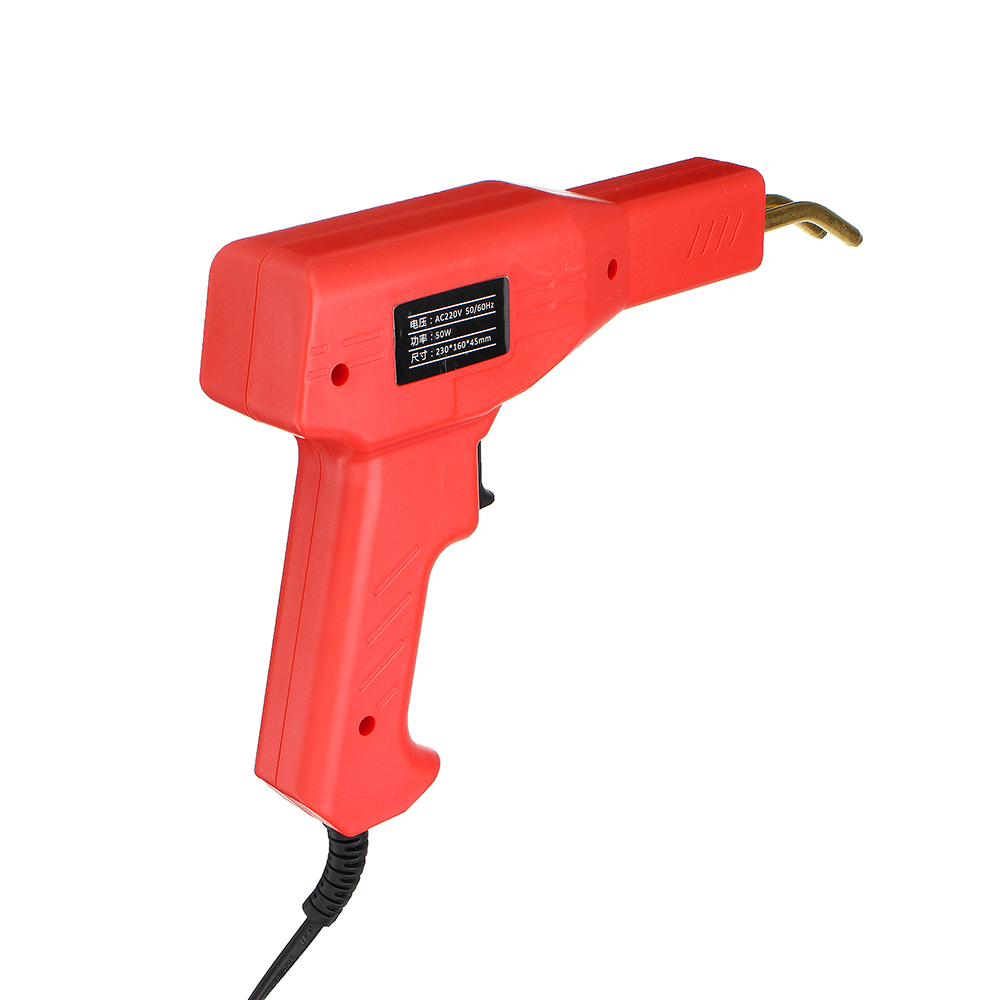 Handy Plastic Welder Garage Tools Hot Staplers Machine Staple PVC Plastic Repairing Machine Car Bumper Repair Tool