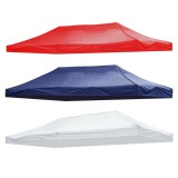 10x20ft Canopy Top Cover Replacement Tent Patio Gazebo 420D UV Sunscreen Sunshade