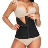 Bone Flat Tummy Slimming Waist Trainer Women Body Shaper Cincher Underbust Shapewear