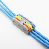 PCT-3 3Pin Colorful Docking Connector Electrical Connectors Wire Terminal Block Universal Electrical Wire Connector