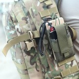 Three Soldiers ZB85 Molle Tactical Bag Multi-Pocket Waist Bag Wallets For Camping Hunting Phone Storage Bag