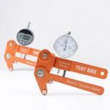 Aluminum Alloy Spoke Tension Meter Bikes Indicator Tensiometer Scales to 0.01mm Wheel Correction Rim Adjustment Tool