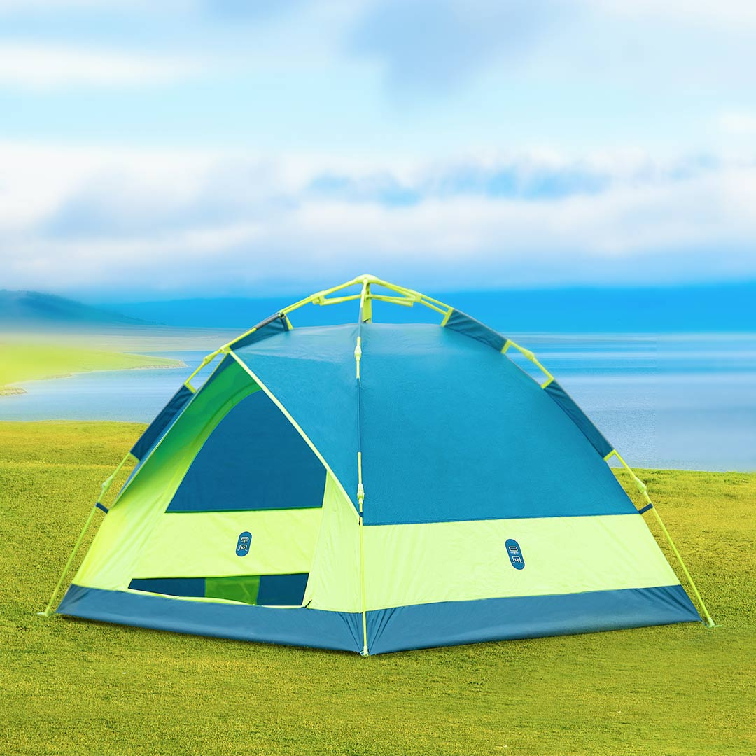 ZENPH 3-4 People Automatic Tent Waterproof PU 1000mm Canopy Sunshade Outdoor Camping from xiaomi youpin