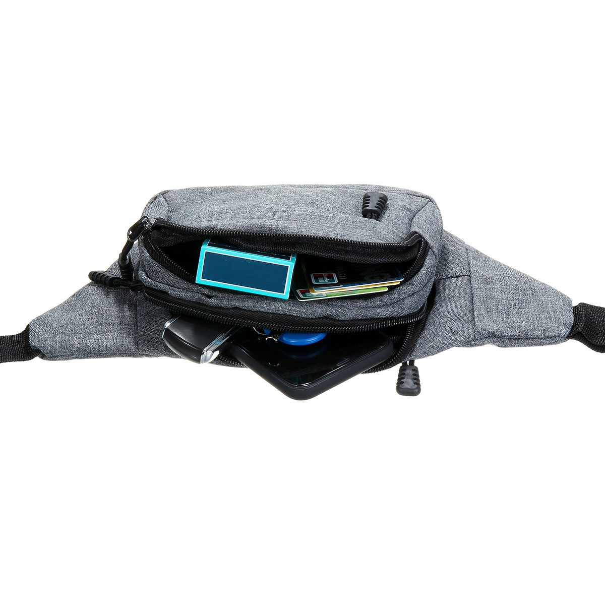 Large Capacity Sports Waist Bag Phone Bag Crossnody Bag For Outdoor Sports Hiking Jogging Running