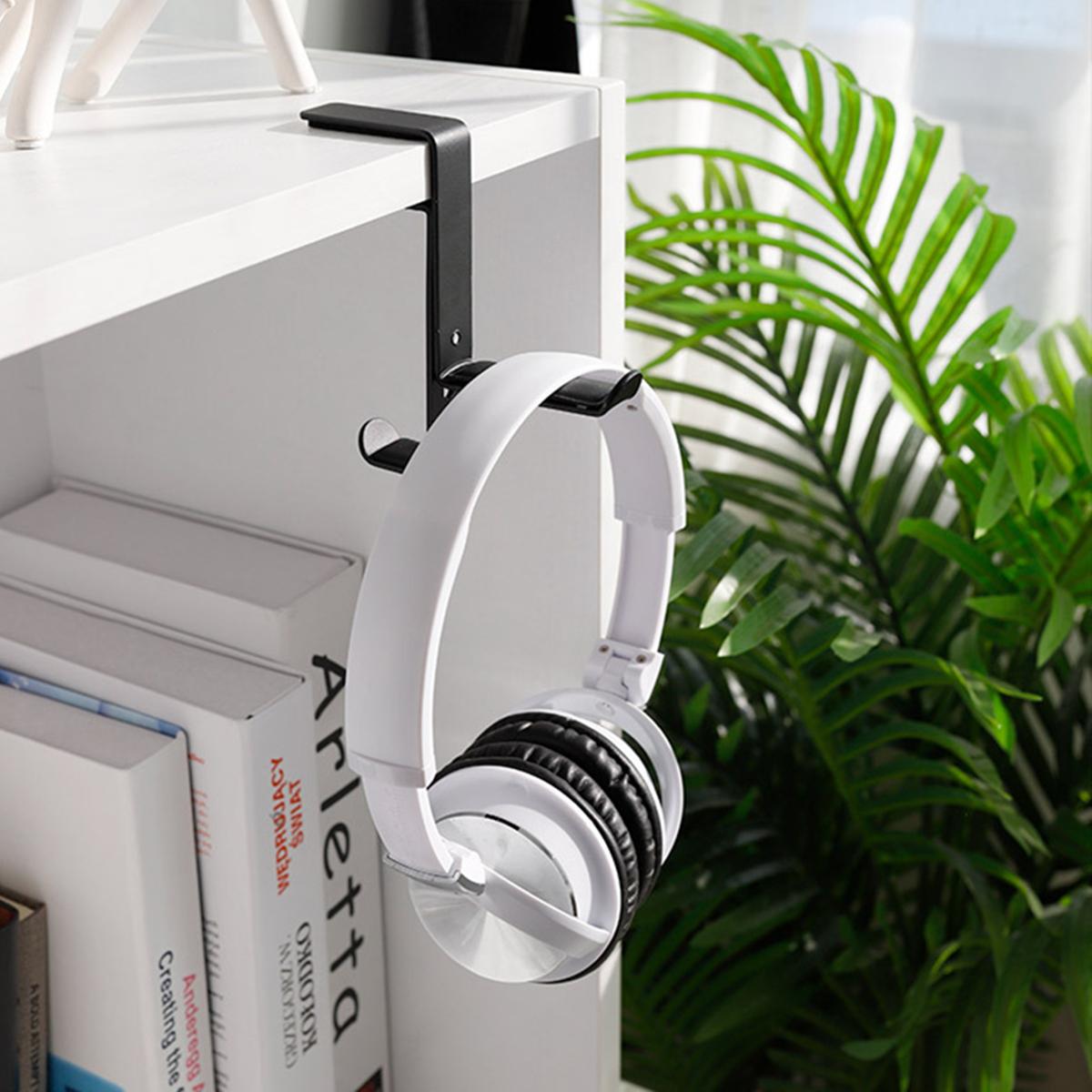 Steel Headset Earphone Headphone Hanger Stand Holder Table Clamp Clip Screws Headset Holder