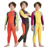 Kids Boy Scuba One-piece Diving Suit UV Protection Thermal Snorkeling Wetsuit Surfing Swimwear