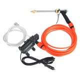 12V High Pressure Washer Electric Car Portable Spray Cleaner Watering Wash intelligent Pump Cleaning Kit
