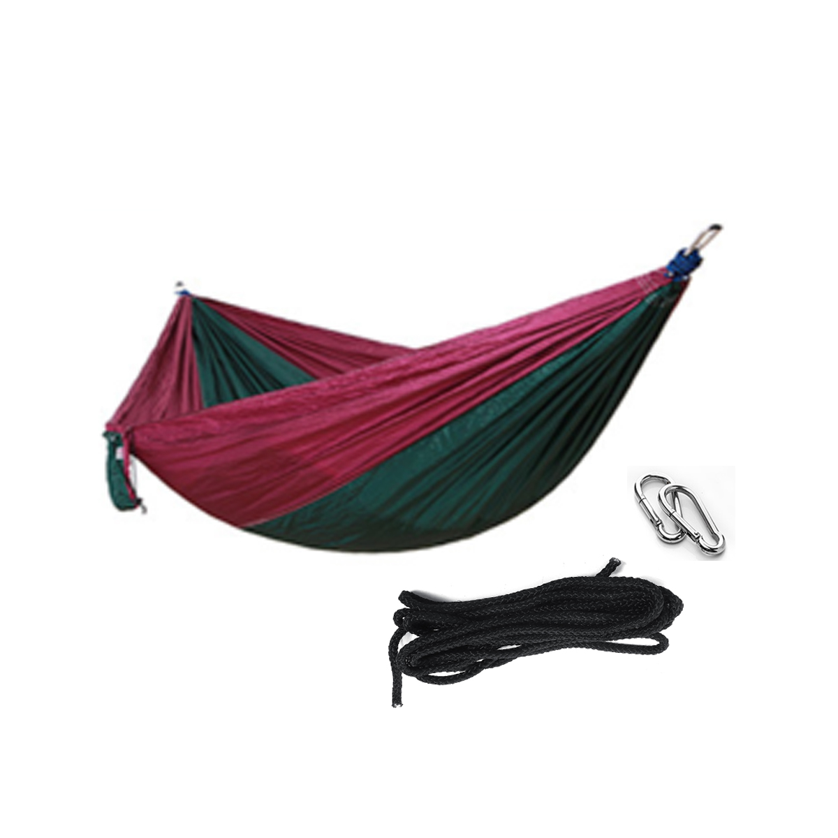 Outdoor Travel Double Person Hanging Hammock Max Load 200KG Portable Camping Hammock Bed