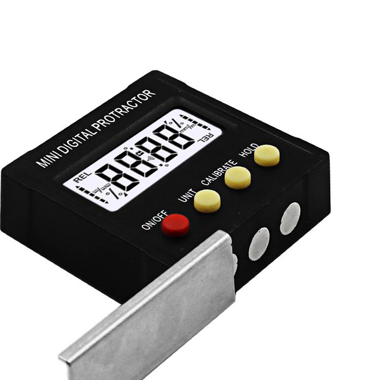 360 Degree Mini Digital Protractor Inclinometer Electronic Level Magnetic Box