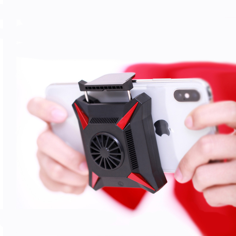 Portable Mobile Phone Cooler Usb Cooling Fan Semiconductor Refrigeration Gaming Radiator