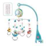 59cm x 23.5cm 3 x AA Batteries Bed Bell Remote Control Music Box Help Sleep Exercise Baby's Hand-eye Coordination