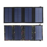 5.5V 9.6W Solar Charger Solar Panel Charger Waterproof Foldable Dual USB Ports Solar Battery Charger