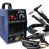 CT312 3 in 1 TIG MMA CUT TIG Welder Inverter Welding Machine 120A TIG/ MMA 30A Plasma Cutter Portable Multifunction Welding Equipment 110-220V