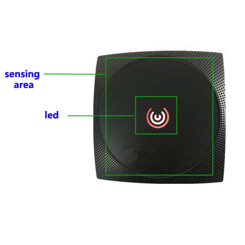 Long Range RFID Card Reader 13.56MHZ/125KHZ Proximity Card Access Control Reader Wiegand34 IP65 Waterproof NFC Reader