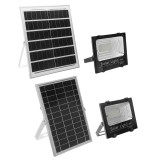 25w/40w/60w Solar Flood Light Solar LED Spotlight W/ Manual/Remote Control Solar Panel IP67 Waterproof