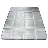 Outdoor Double-sided Tent Mat Aluminum Film Pad Waterproof Camping Picnic Blanket