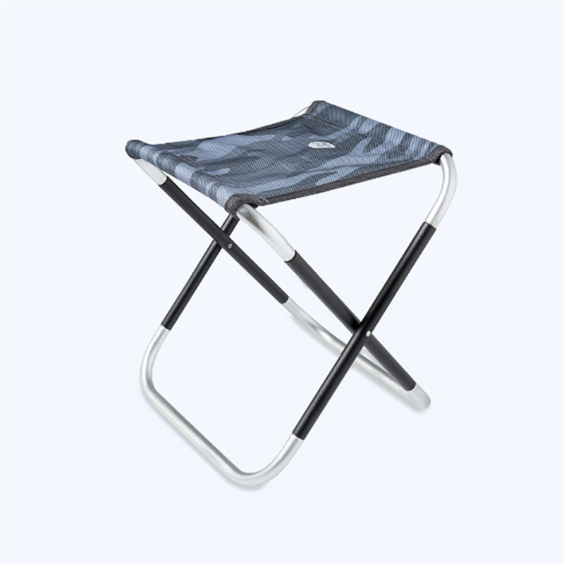 ZENPH Outdoor Portable Folding Chair Aluminum BBQ Seat Stool Max Load 80kg Camping Picnic from xiaomi youpin