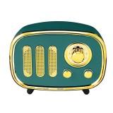 Portable Vintage Retro AM FM Radio bluetooth Speaker TF Card USB MP3 Music Player