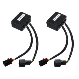 Dynamic Blinker Taillights Turn Signal LED Rear Indicator Light Module Cable Wire For VW Golf 7 2012-2018