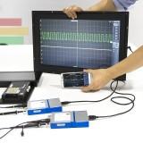 OSC482S Digital Portable Oscilloscope OSC482S PC USB 2.0 Virtual 2CH Bandwidth Oscilloscope with 13M Hz Signal Generator