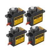 4PCS Racerstar SG90 9g Micro Plastic Gear Analog Servo For RC Helicopter Airplane Robot