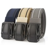 120cm AWMN BO02 Punch Free Quick Release Buckle Tactical Belt Unisex Nylon Belt