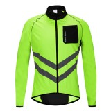 WOSAWE Reflective Watorproof Bike Bicycle Cycling Sport Clothing Jacket Windproof Rain Coat Jersey