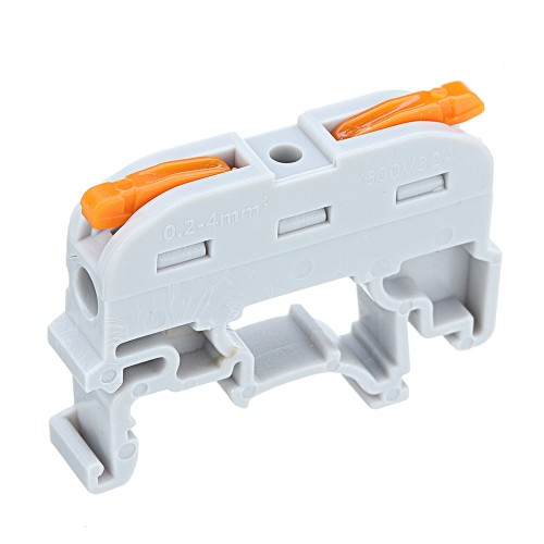 SPL-1 PCT-211 Rail Type Quick Connection Terminal Press Type Connector Instead Of UK2.5B Terminal Block
