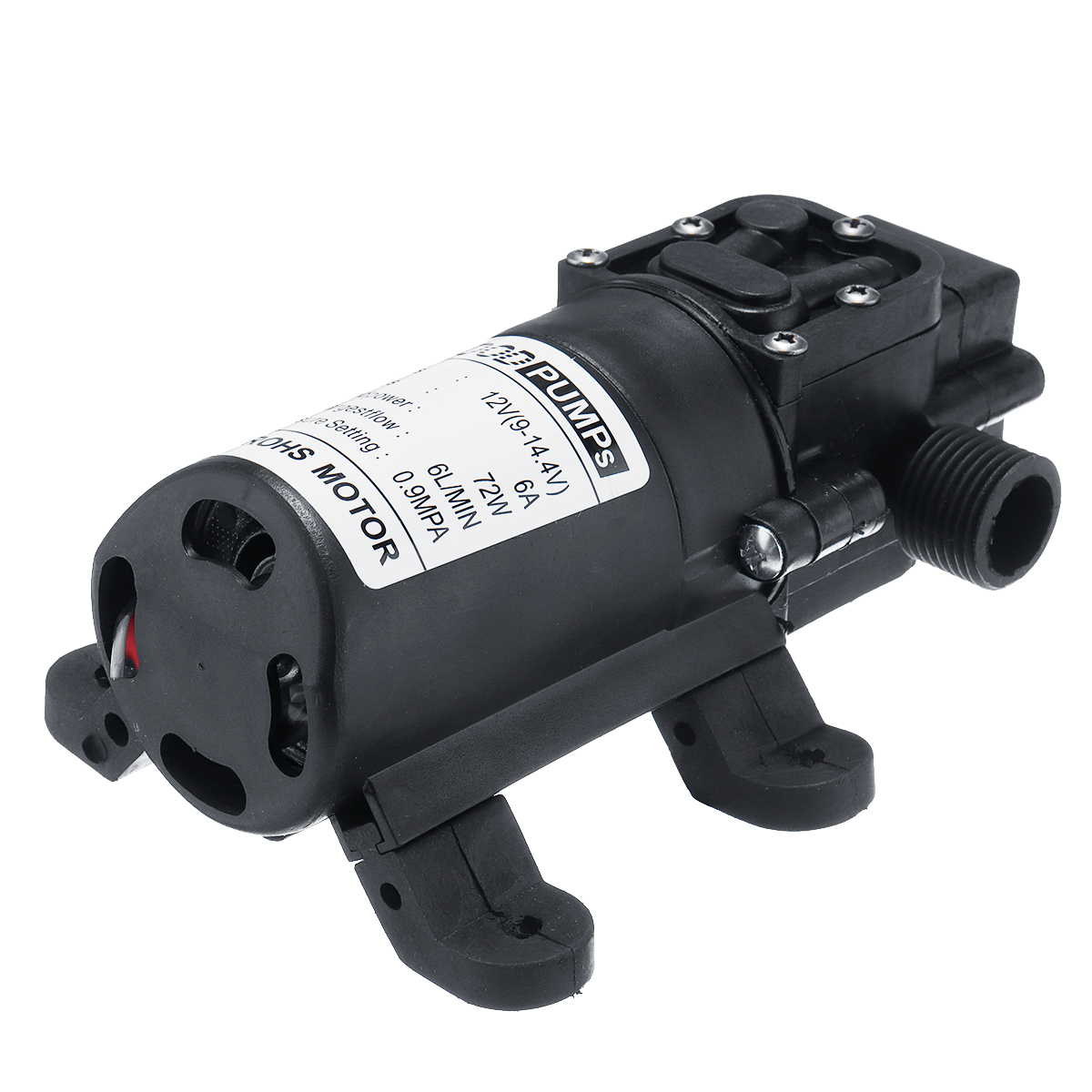 12V 72W Water Diaphragm Pump 6L 20mm Water Pump Diaphragm Self Priming Sprayer Pump