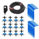 20Set Greenhouse Drip Irrigation 4-Way Drip Arrow 2-Way Transmitter Irrigation System Potted Plants With Greenhouse