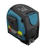 DTAPE DT10 40M Laser Tape Measure 2-in-1 Digital Laser Measure Laser Rangefinder with LCD Digital Display Magnetic Hook