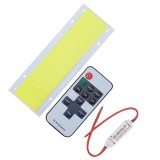 DC12V White/Warm White COB LED Chip DIY with Remote Controller for Car
