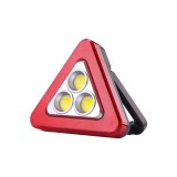 Outdoor 20W COB Light USB Rechargeable Work Light 5 Modes Solar Camping Emergency Lantern Warning Lamp