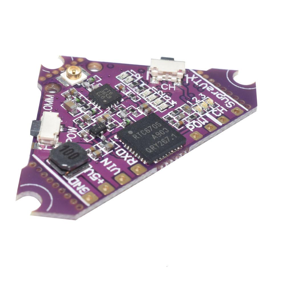 AuroraRC Supra-VTX 5.8G 40CH 25mW 100mW 200mW Switchable FPV Transmitter VTX for Supra7 Pro FPV Racing Drone