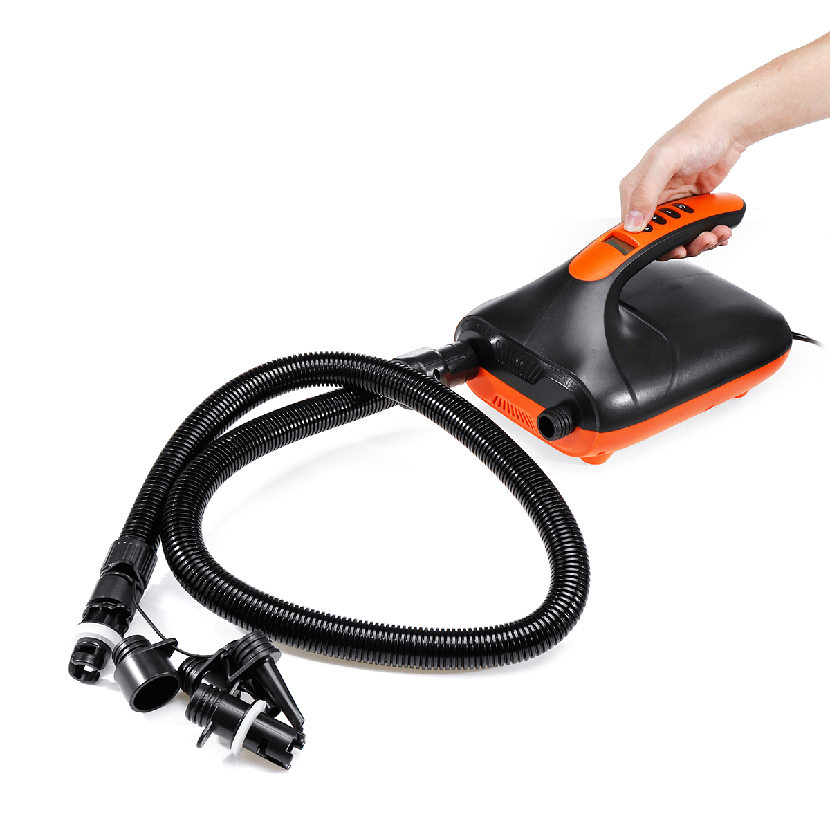 20PSI High Pressure Portable 12V Digital Air Pump LED Display for SUP & Paddle Board